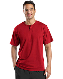 Mens Short Sleeve Henley