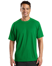 Mens Raglan Sleeve T Shirt with Wicking And AntiMicrobial Treatments