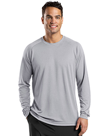 Mens Dry Zone Long Sleeve Raglan T Shirt