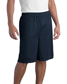 Sport-Tek T515 Mens Long Mesh Shorts at bigntallapparel