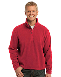 Port Authority TLF218 ® Tall Value Fleece 1/4-Zip Pullover.  at bigntallapparel