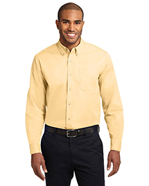 Mens Long Sleeve Easy Care Dress Shirt