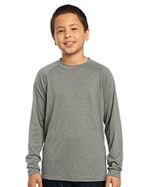 NEW Sport-Tek® - Youth Long Sleeve Ultimate Performance Crew. YST700LS