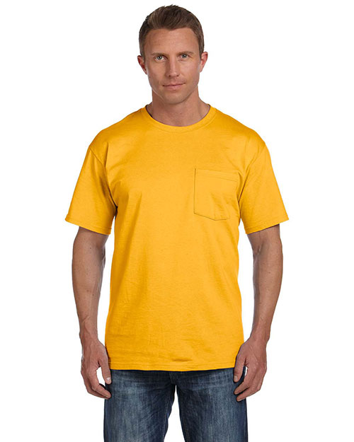 5.4 oz. Heavy Cotton Pocket T-Shirt